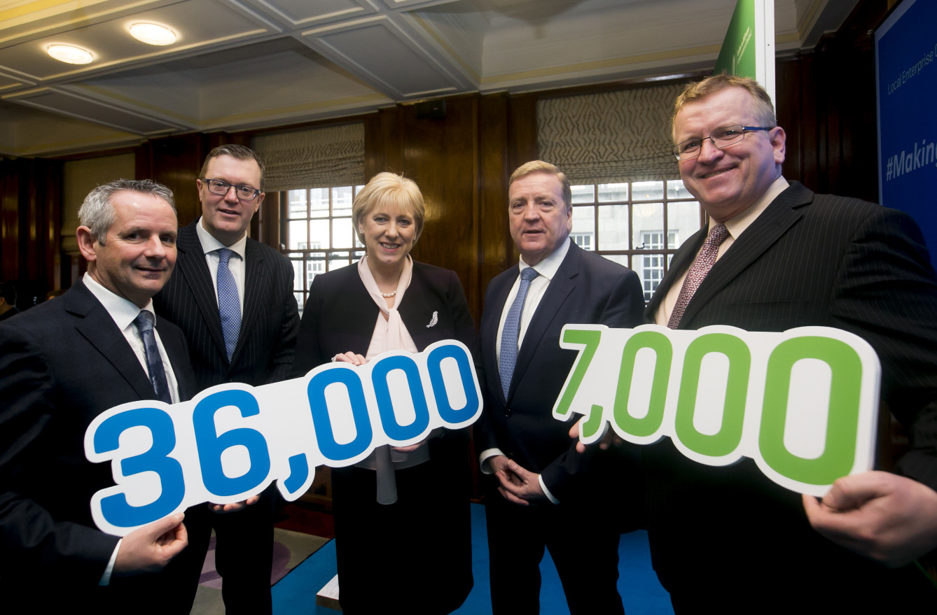 Local Enterprise Offices now supporting over 36,000 jobs